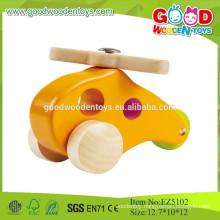 2015 Wooden Yellow Color Plane Model ,Mini Plane Toys