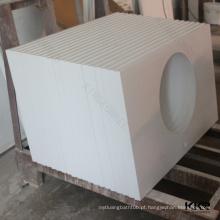 bancadas do polímero da ilha de cozinha, benchtops do granito