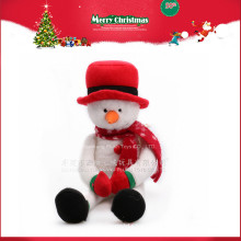 Presente relativo à promoção 2016 do boneco de neve da peluche do Natal