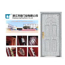 Armored Door with Strong and Classic Surface