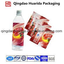 ПВХ / этикетка для упаковки в бутылки для упаковки напитков в бутылках с логотипом заказчика