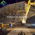fishing boat landing and launching ship airbag exported to Batam Indonesia