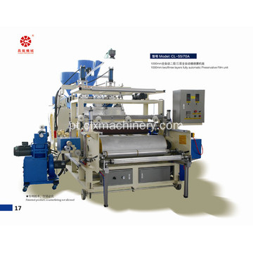 Maquinário Roll Casting Wrapping Stretch Film Line