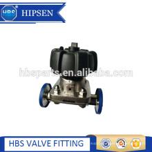 Food grade sanitary stainless steel clamp diaphragm valve