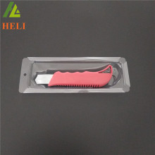 Customized plastic cutter knife packaging box