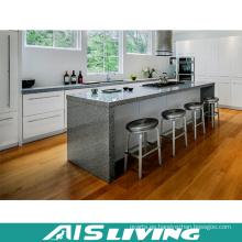 Muebles del armario de la laca del gabinete de cocina de madera contrachapada (AIS-K439)