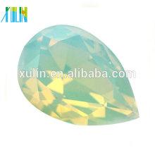 Tear drop cut crystal opal stone/gemstone