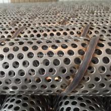 Tubo de filtro perforado soldado en espiral de acero inoxidable 304