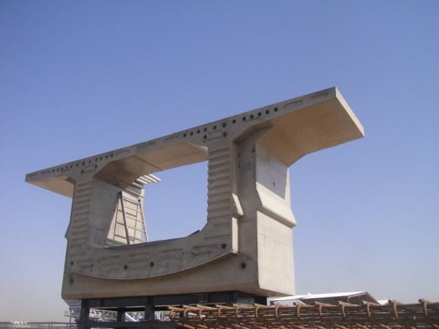 segmental box girder bridge construction