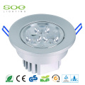 3inch 4inch Bureau rond Dimmable Led Downlight