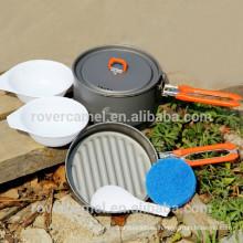 Arce de fuego fiesta-1 1-2 persona utensilios set ollas ollas de Camping portátil de deportes al aire libre