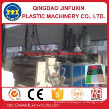 Máquina plástica del estirador de la estera del suelo