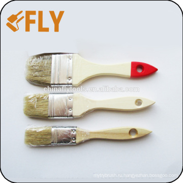 оптовая лакированной деревянной ручкой кисть