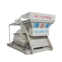 misturador de concreto de alta produtividade em ferro fundido com elevador