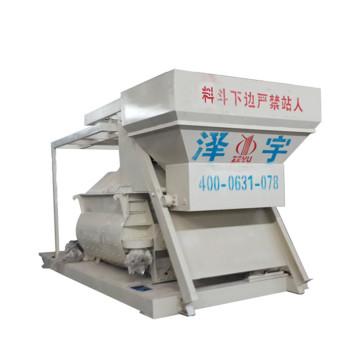 Hormigonera de hierro fundido de alta productividad con elevador