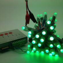 Ws2811 Pixel светодиодный Открытый Красочный Новогоднее украшение Фея String Light