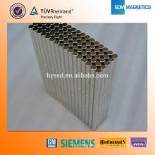 Profesional Индивидуальная форма Суперсильные неодимовые магниты с сертификатом ISO / TS16949