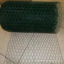 Rouleau de treillis hexagonal enduit de PVC de 1/2 po