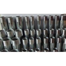 black steel screw pipe nipple