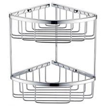 Cesta de malla de doble capa para baño y cocina