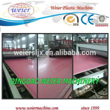 PVC geschäumt Blatt Produktionslinie /PVC Kartonmaschine