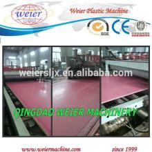 Máquina de placa de linha de produção /PVC folha de espuma de PVC