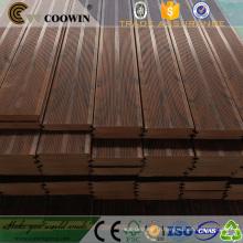 Bois antiseptique propriétés plancher de jardin en plastique imitation bois planche