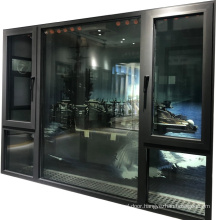 Soundproof hurricane window 2.0mm thickness impact window hurricane proof waterproof hurricane impact window