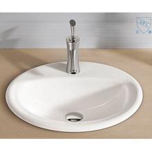 Badezimmer Oval Runde Form Kunst Keramik Porzellan Handwaschbecken Waschbecken