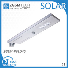 IP66 Ik10 with 3 Years Warranty TUV GS Ce RoHS Listed All in One Solar Street Light