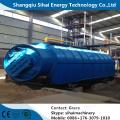 Processamento de pneus de alta tecnologia para óleo combustível