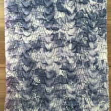 tecido de colchas de malha, 100% poliéster tecido estampado de casaco de inverno
