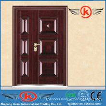 JK-S9208BLuxury front steel partment building entry safe steel design door
