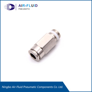 Air-Fluid Lubrication Push in Straight Adaptor Fittings.
