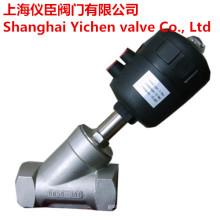 Пневматические угол клапан из нержавеющей стали 304/316 поток клапан