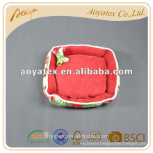 100% polyester polar fleece dog dry bed