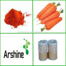 ISO Certified Carrot Beta-carotene powder Preço