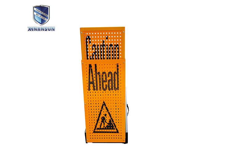 Cheap stable outdoor windproof reflective warning sign board