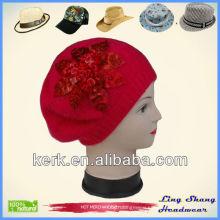 Pretty Fashion Winter Knitted Hat winter hats fashion hat in winter beanie hat , LSA70
