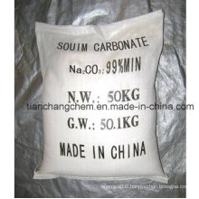Industrial Chemical 99.2% Soda Ash (dense or light)