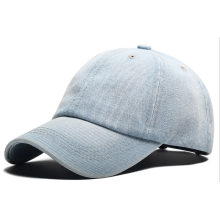 Denim Heavy Washing Man Femmes Plaine Cap