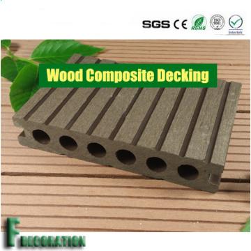Outdoor Hollow Crack-Resistant Long Lasting WPC Laminate Flooring