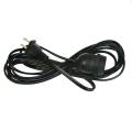 Cordon de suspension noir avec prise E26
