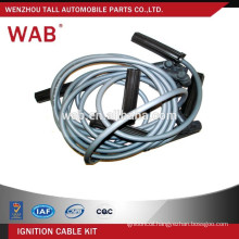 Car parts replacement auto ignition cable wire set spark plug wire for Chevrolet 12096426