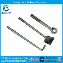 GB799 Sujetador de China de alta resistencia HDG fundación perno