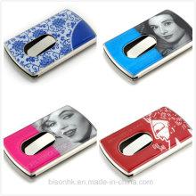Hand-Push-Art-Kartenhalter Calling Card Case