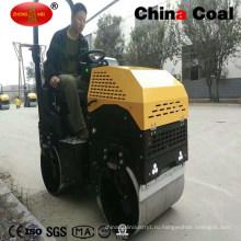 Китай 1,3 т гидравлический ездить на двойной вибрационный грунтовый Дорожный каток