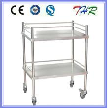 Больничная тележка для обработки нержавеющей стали (THR-MT240)