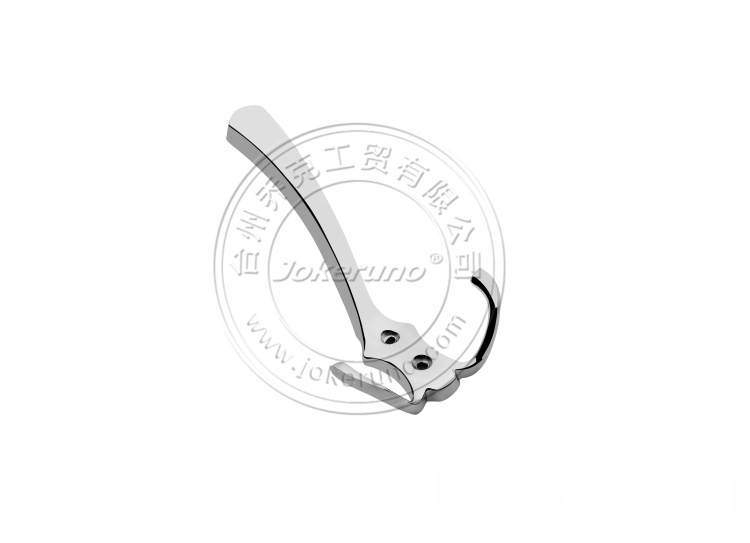 Aluminium clothes hook 18006