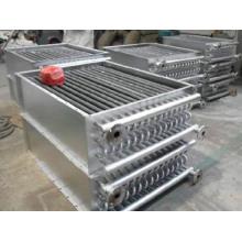 Intercambiador de calor de aire de tubo con aletas para horno de madera